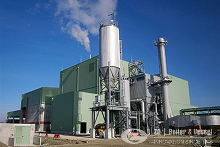 Biomasa poder despedido caldera de la planta